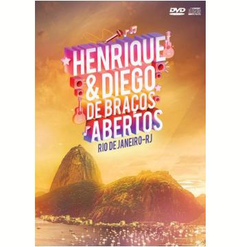 Henrique e Diego - De Braços Abertos Ao Vivo - (DVD) +  (CD)