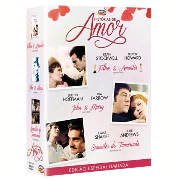 Box - Histórias De Amor (DVD)