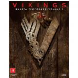 Vikings - 4ª Temporada - Vol. 1 (Blu-Ray) - Alexander Ludwig, Katheryn Winnick