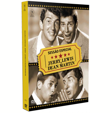 Sessão Especial - Jerry Lewis & Dean Martin (DVD)