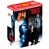 24 Horas 1� Temporada + Prison Break 1� Temporada (DVD) - V�rios (Diretor)