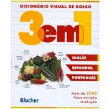 Dicion�rio Visual de Bolso - 3 em 1 - Editora Blucher