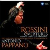 Antonio Pappano - Rossini Overtures (CD) - Antonio Pappano