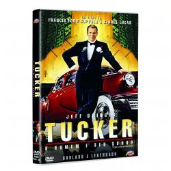 DVD - Tucker O Homem E Seu Sonho. - Francis Ford Coppola. - 7899808400302