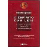 Espírito das Leis, o 9ª Edição - Charles Louis de Montesquieu