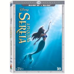 Blu - Ray - A Pequena Sereia - Edição Diamante ( Blu - Ray 3D ) + - 7899307919459