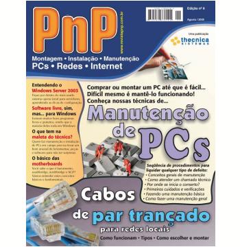 PnP Digital nº 9 - Manutenção de PCs, Cabos de par trançado (Ebook)