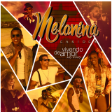 Melanina Carioca - Vivendo de Amor (CD) - Melanina Carioca