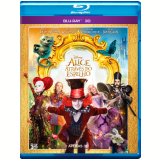 Alice Atrav�s do Espelho 3D (Blu-Ray) - Johnny Depp, Mia Wasikowska