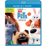 Pets - A Vida Secreta dos Bichos - Blu-ray 3D + Blu-ray (Blu-Ray) - Luis Miranda, Tiago Abravanel