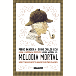 Livros - Melodia Mortal - Pedro Bandeira, Guido Levi - 9788595170025