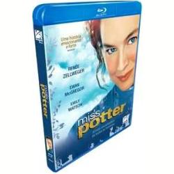 Blu - Ray - Miss Potter - Emily Watson, Renée Zellweger, Ewan McGregor - 7899154508233