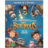 Os Boxtrolls (3d) + (Blu-Ray) - Jared Harris, Ben Kingsley, Tracy Morgan