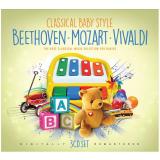 Classical Baby Style (CD) - Mozart, Beethoven, Vivaldi