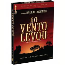 DVD - E o Vento Levou - Edição de Colecionador - Victor Fleming ( Diretor ) - 7892110039048