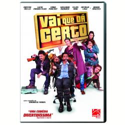 DVD - Vai Que Dá Certo - Fábio Porchat, Natália Lage, Lúcio Mauro Filho - 7899154515170