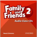 Family And Friends 2 Audio (3 Cds) -