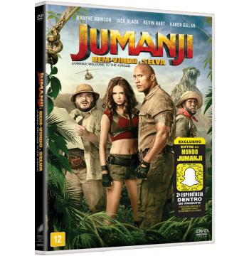 Jumanji - Bem-Vindo à Selva (DVD)