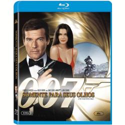 Blu - Ray - 007 Somente Para Seus Olhos - Roger Moore, Julian Glover - 7898512961727
