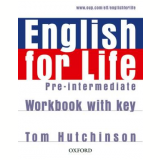 English For Life Pre-Intermediate - Workbook With Key -