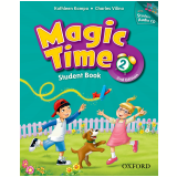 Magic Time 2 Student Book With Cd Pack - Second Edition - Charles Vilina, Kampa Kahtleen