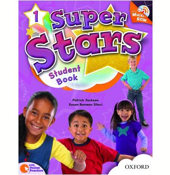 Super Stars 1 Student Book With Multirom Pack