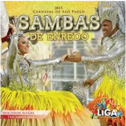 CDs - Sambas De Enredo Carnaval São Paulo 2015 - Vários - 7899340760414