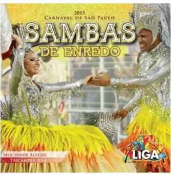 Sambas De Enredo Carnaval São Paulo 2015 (CD)