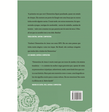 Quelé, A Voz Da Cor: Biografia De Clementina De Jesus