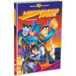 DVD - Batman e Superman: Melhores do Mundo - Vários ( Diretor ) - 7892110027762