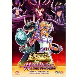 DVD - Os Cavaleiros do Zodíaco - Hades: A Saga do Inferno - Volume 3 - Tomoharu Katsumata ( Diretor ) - 7898023242483