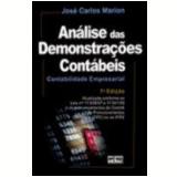Analise Das Demonstraçoes Contabeis - José Carlos Marion