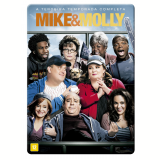 Mike e Molly - 3ª Temporada Completa (DVD) - Melissa McCarthy