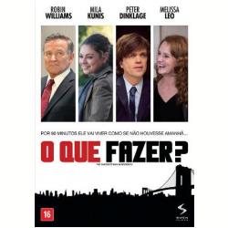 DVD - O Que Fazer ? - Robin Williams, Peter Dinklage - 7899154516276