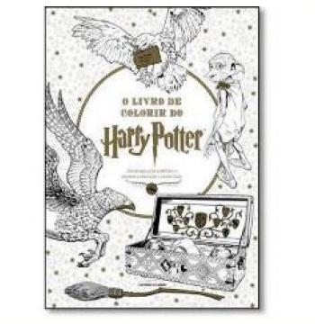O Livro De Colorir Do Harry Potter