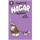 O Melhor de Hagar - O Horrível - Vol. 9 (Pocket) - Dik Browne