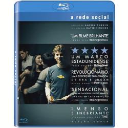 Blu - Ray - A Rede Social - Joseph Mazzello, Jesse Eisenberg - 7892770026389