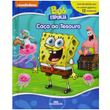 Bob Esponja Calça Quadrada - Caça ao Tesouro - Editora Melhoramentos