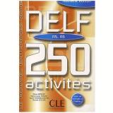 Delf 250 Activites (a5/a6) - Livre - Richard Lescure
