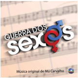 Guerra dos Sexos - Instrumental (CD) - Vários