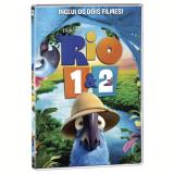 Rio 1 + Rio2  (DVD) - Vários (veja lista completa)
