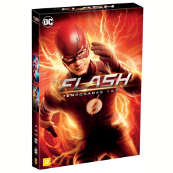 DVD - The Flash - 1ª E 2ª Temporada ( 11 Dvds ) - Tom Cavanagh, Danielle Panabaker, Jesse L. Martin - 7892110210577