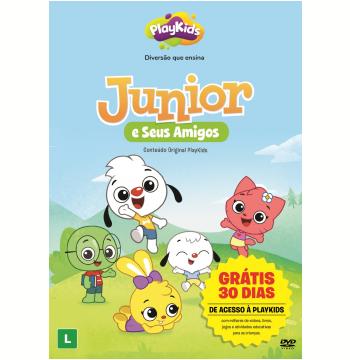 PlayKids - Junior e Seus Amigos (DVD)