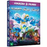 Os Smurfs + Os Smurfs 2 + Os Smurfs E A Vila Perdida (DVD) - Vários (veja lista completa)