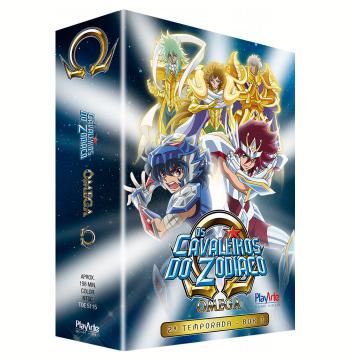Os Cavaleiros do Zodíaco Ômega - 2ª Temporada (DVD)