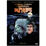 A Câmara dos Horrores do Abominável Dr. Phibes (DVD) - Vincent Price, Joseph Cotten