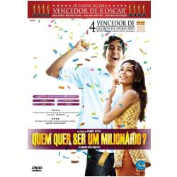 DVD - Quem Quer ser um Milionário - Danny Boyle ( Diretor ) - 7897119456827