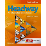 New Headway Pre-Intermediate Student Book And Itutor Cd Included - Fourth Edition - Liz Soars, John Soars