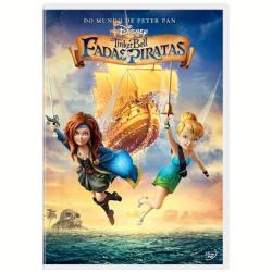 DVD - Tinker Bell - Fadas E Piratas - Christina Hendricks - 7899307920448