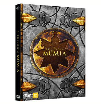 Box - Triologia - A Múmia  (DVD)